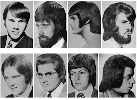 Dumb hairstyles of the 1970s