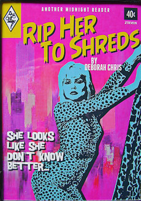 Debbie Harry faux pulp novel
