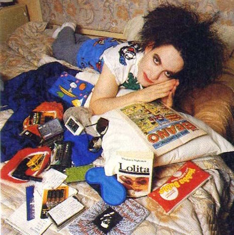 Robert Smith from the Smash Hits Yearbook 1987