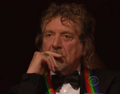 'Stairway to Heaven' tribute at Kennedy Center Honors moves Robert Plant to tears
