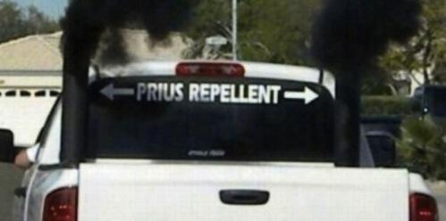 Brain-dead, redneck diesel lovers brag about how much toxic smoke their trucks can spew