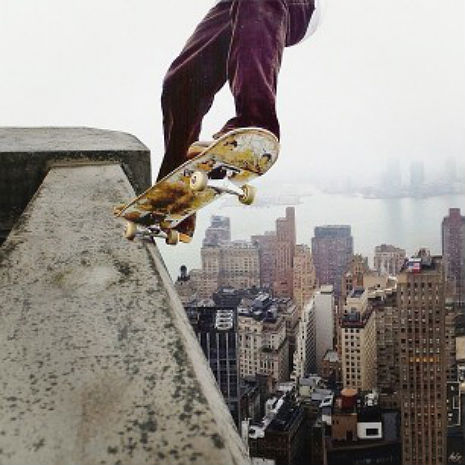 Video of skateboarders on Brooklyn rooftops is both mesmerizing and terrifying