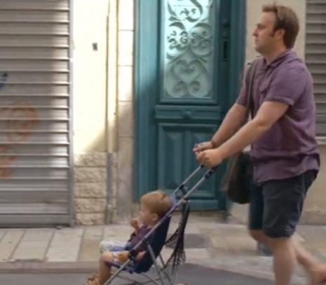 french film stroller
