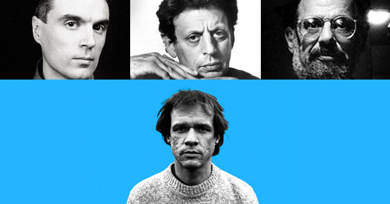 David Byrne, Philip Glass and Allen Ginsberg on Arthur Russell
