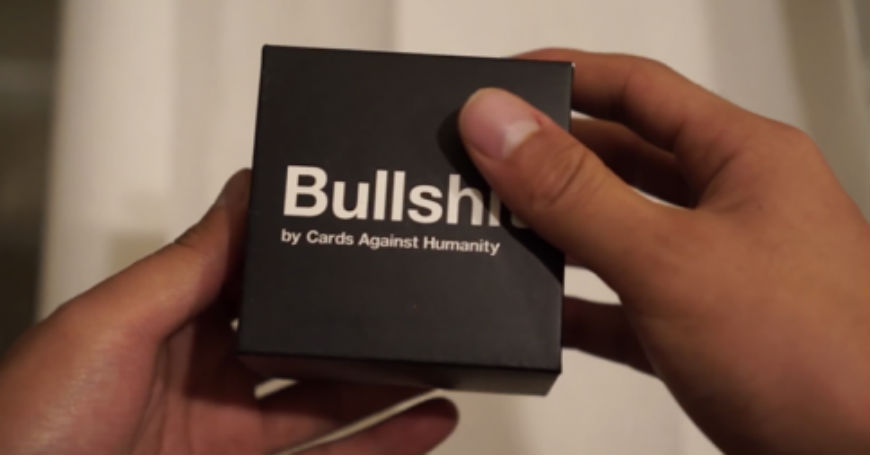 People who paid six bucks for shit from Cards Against Humanity were startled to receive just that
