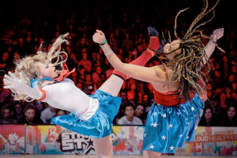 Wonder Woman and Sailor Moon had a massive vogue throwdown in Stockholm
