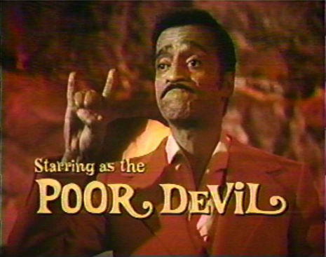'Poor Devil': Starring Sammy Davis Jr. (and Christoper Lee as 'Lucifer'!) 1973