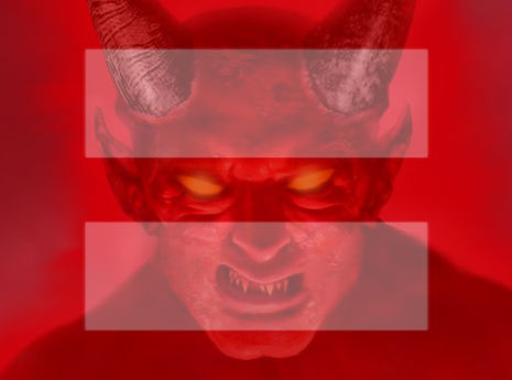 'Well played Satan': Gay marriage avatar, the Devil's handiwork?