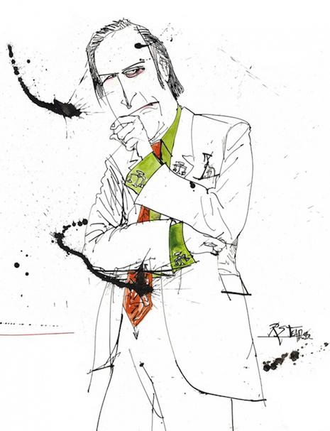 Saul Goodman Ralph Steadman