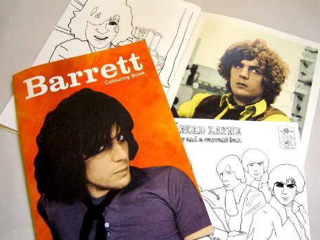 Syd Barrett coloring book