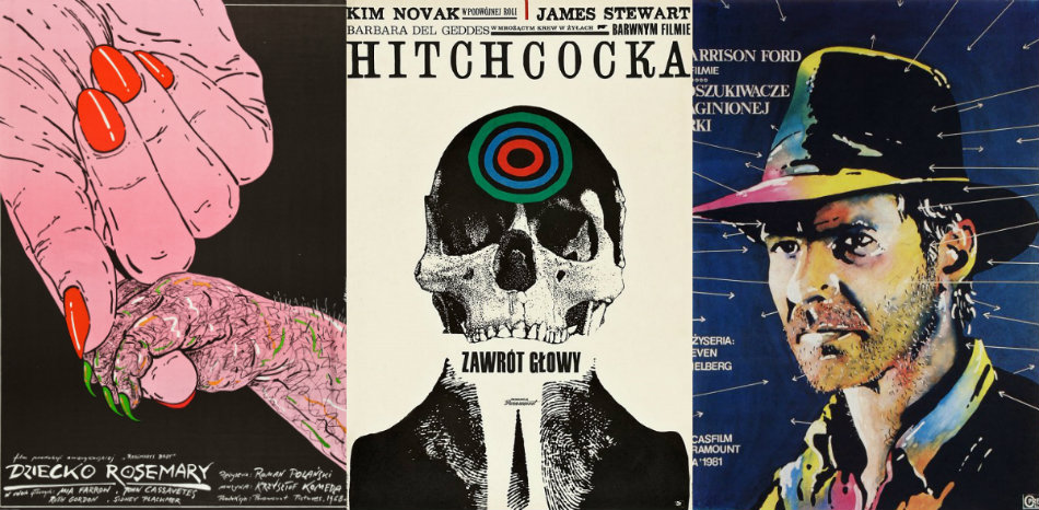 Fantastic Polish movie posters of well-known American films
