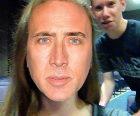 Feeling Cagey? Website plasters Nicolas Cage's head on Instagram selfies in real time