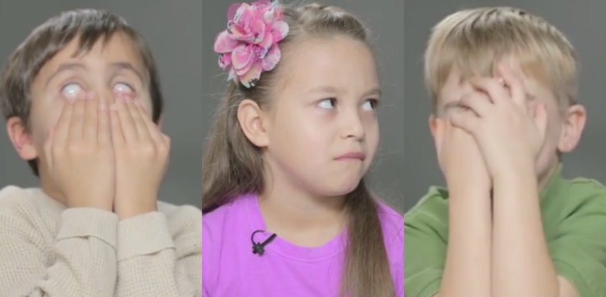 'It's a vaNgina': Watch these children's reactions when they learn about sex for the first time