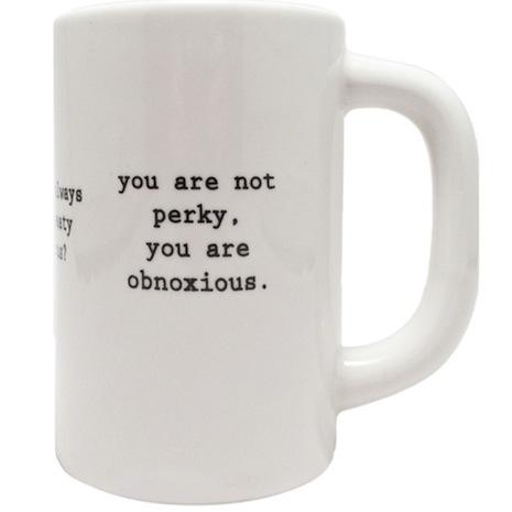 Intervention-ware coffee mug