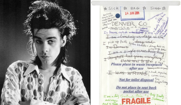 A peek at Nick Cave's latest: 'The Sick Bag Song'