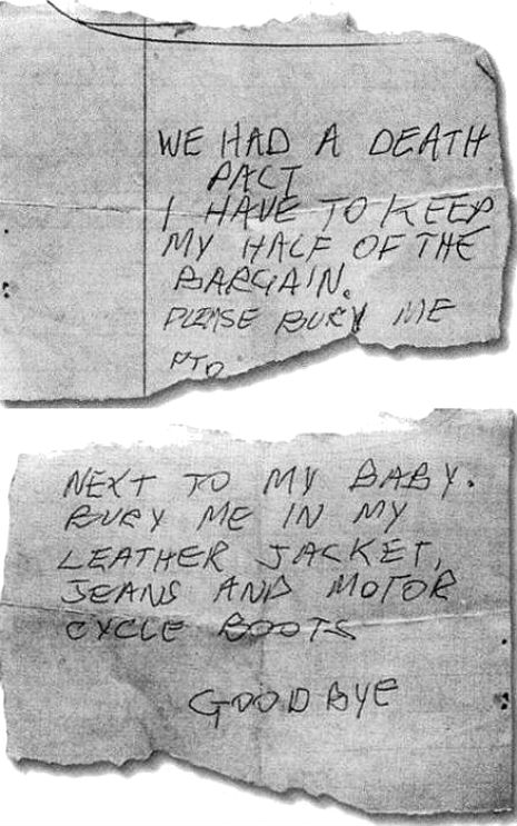 'Bury me with my boots on': Sid Vicious's death wish
