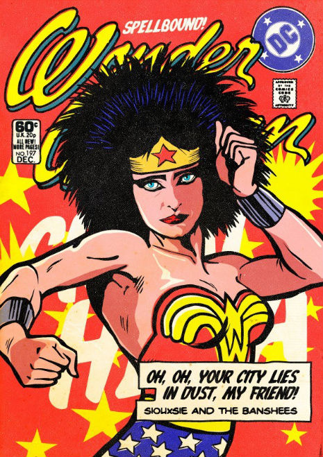 Siouxsie, Morrissey, John Lydon, Robert Smith and more get superhero makeovers