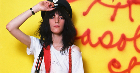 'I always hope that people will have some kind of orgasm': Patti Smith on 'The Tomorrow Show'