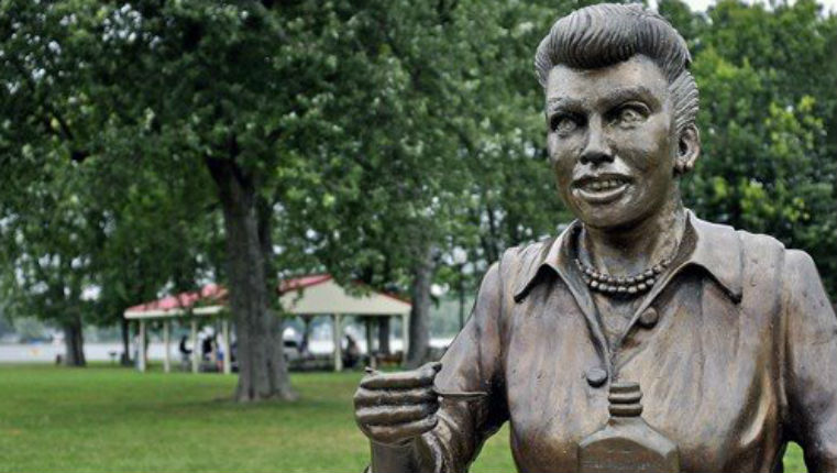 I Hate Lucy: Lucille Ball statue horrifies small town