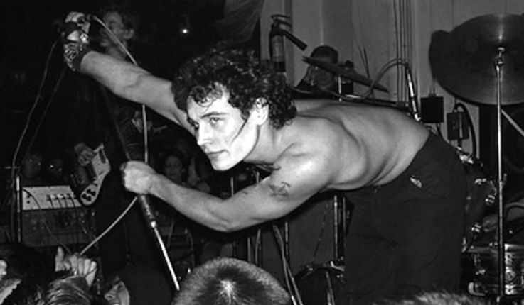 Young Adam Ant looking like a pretty punk rock Adonis