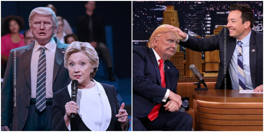 'I replaced Donald Trump with his Disney animatronic figure and honestly, it's an improvement'