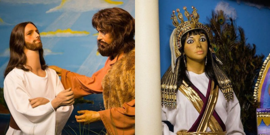 See Tom Cruise starring as Jesus at Bible museum populated with wax celebrity castoffs