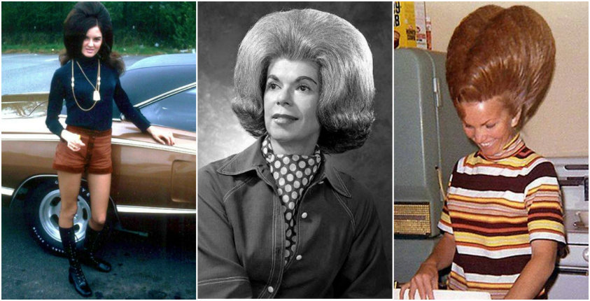'The higher the hair, the closer to God': Glorious BIG hair from the 1960s