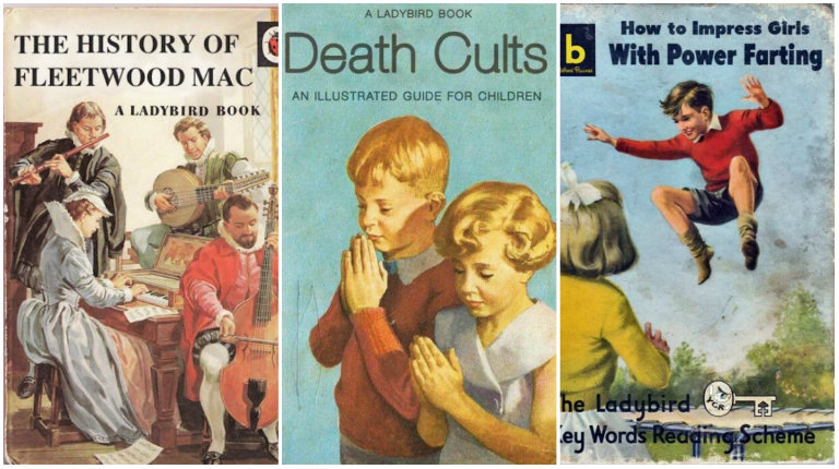 'Daisy drops a tab' & other fantastically fake covers of classic UK children's books