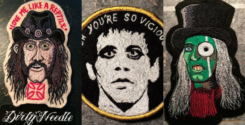 The Needle and the Damage Done: The art of old-school patch embroidery gets born again