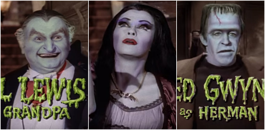 Someone colorized the opening credits to 'The Munsters'
