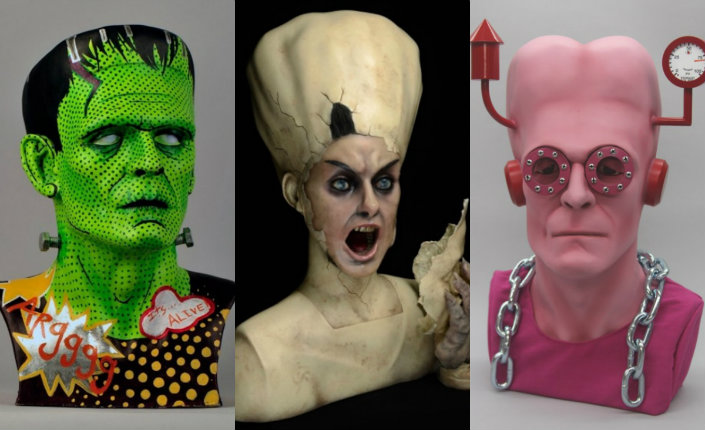 Frankenstein and his Bride get mind-melting makeovers