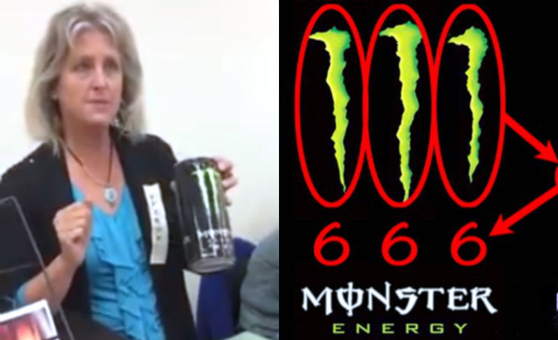 Unleash the Beast: Kooky Christian lady explains how Monster Energy drinks are the work of SATAN