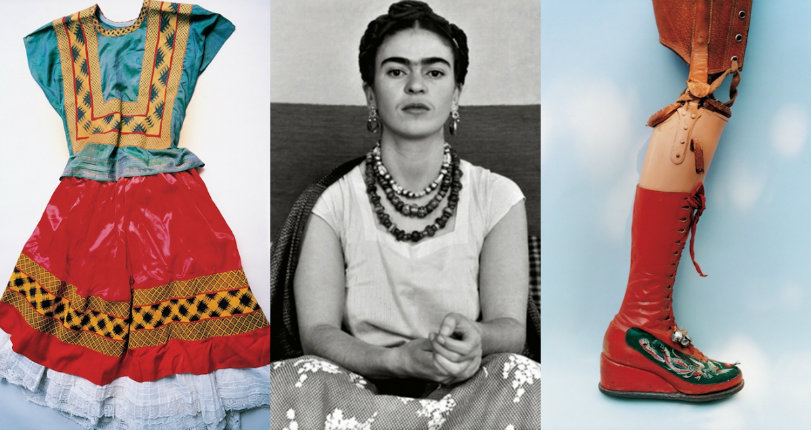 See Frida Kahlo's wardrobe, locked away for 50 years