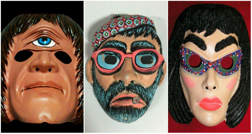 Beatniks, Bugaloos, & Astro-Spooks: Vintage masks made by the High Priest of Halloween, Ben Cooper