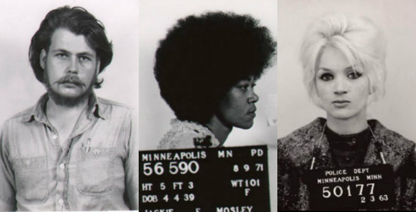 A collection of wild Minnesota mugshots from the late '60s and early '70s