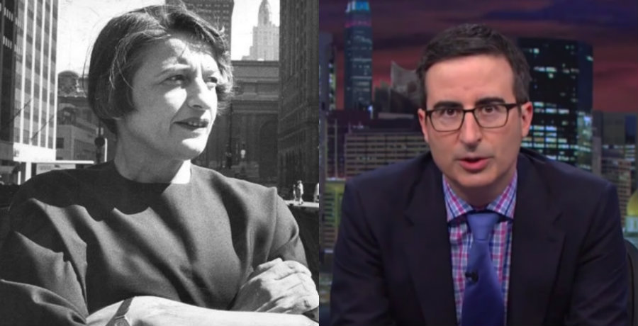 John Oliver hilariously rips Ayn Rand fans