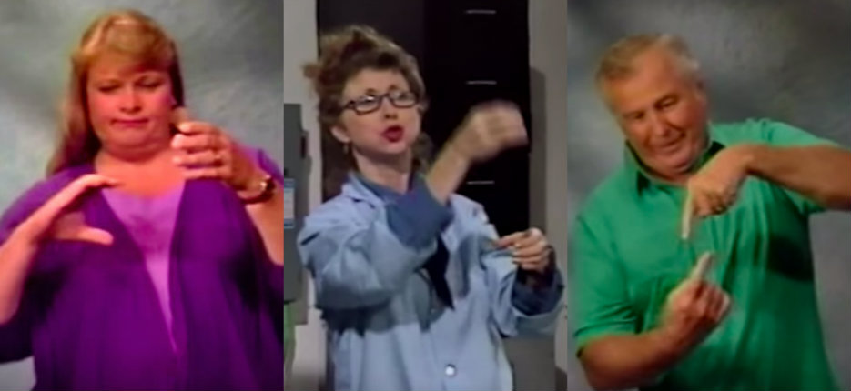 'My Dick': 90's sign language VHS hilariously re-edited into penis jokes (NSFW)