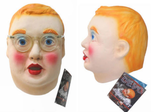 Buy your own DEVO Booji Boy mask