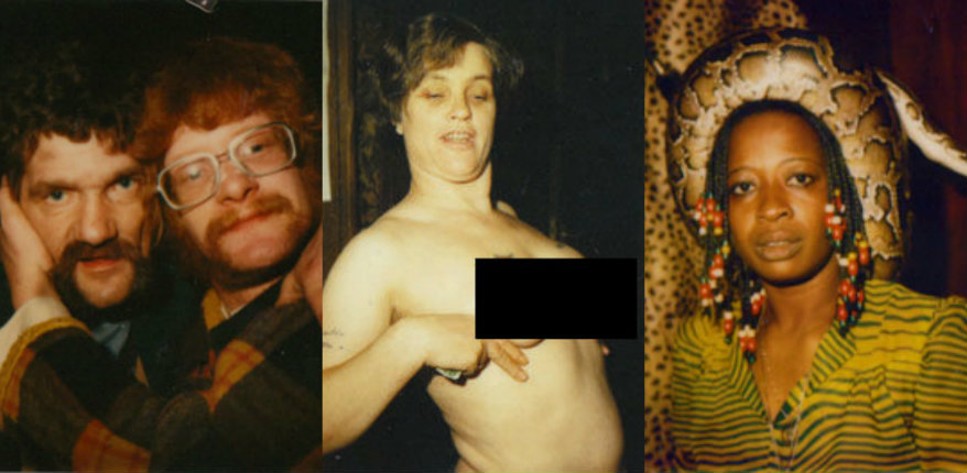 Polaroid portraits from Amsterdam's Red Light District, 1979-80 (NSFW)