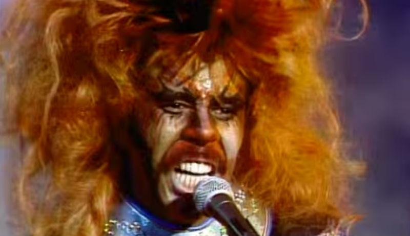 Richard Pryor invents Black Death Metal in 1977