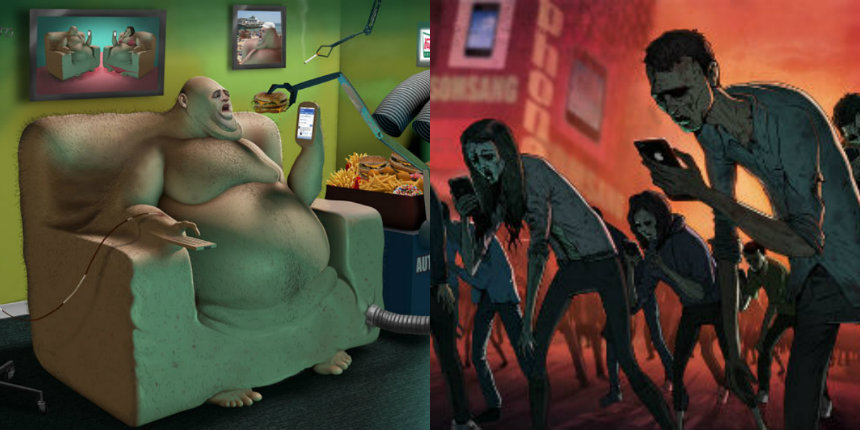 The Sad Truth: Nauseatingly profound illustrations of what the world is turning into