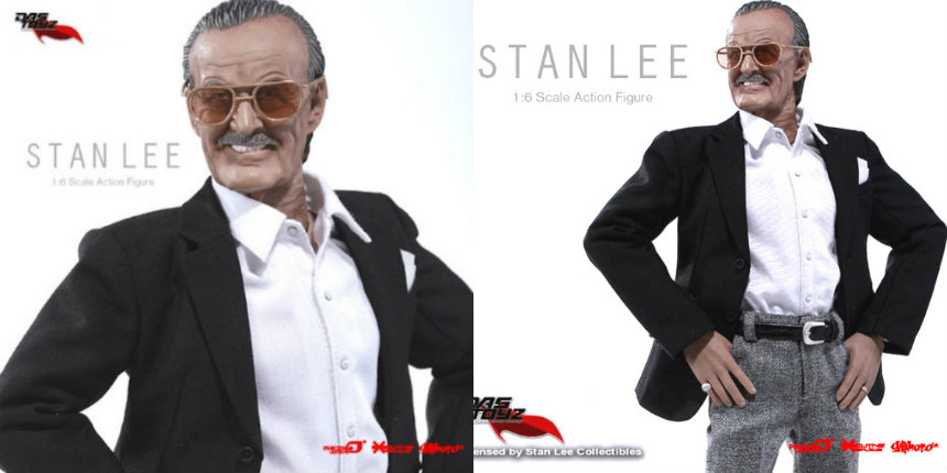 A Stan Lee action figure because YES!