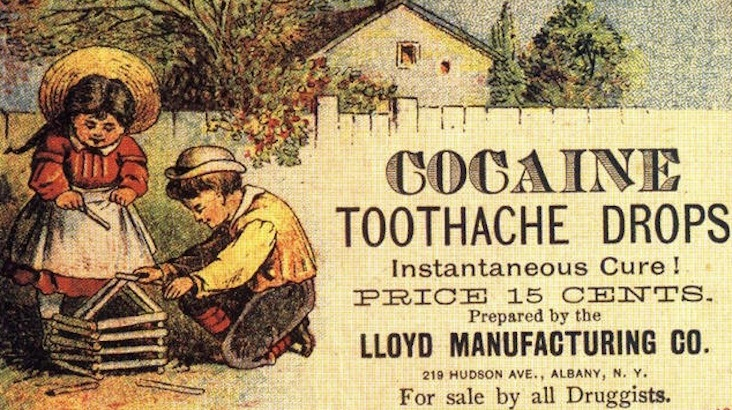 Empire of Drugs: Vintage ads for when cocaine and heroin were legal