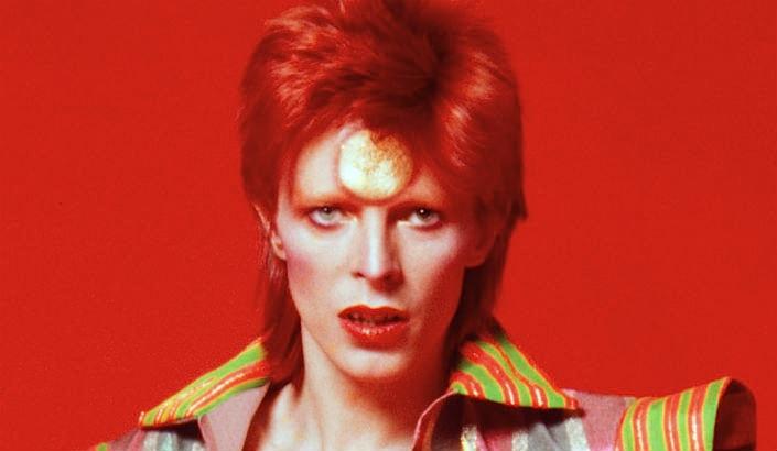 David Bowie's early appearance as Ziggy Stardust, 1972
