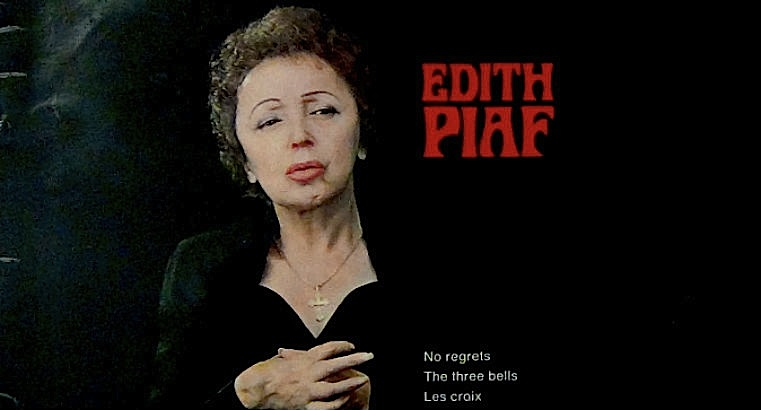 Listening to Édith Piaf slowed down and memories of my childhood Sundays