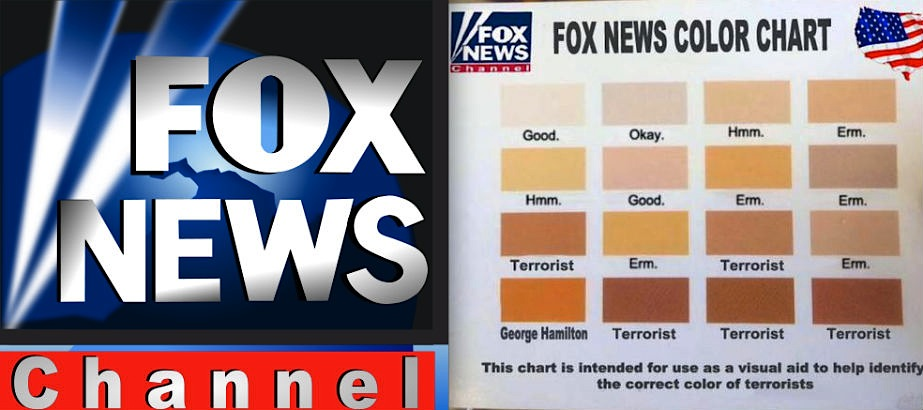 The Fox News Color Chart, apparently