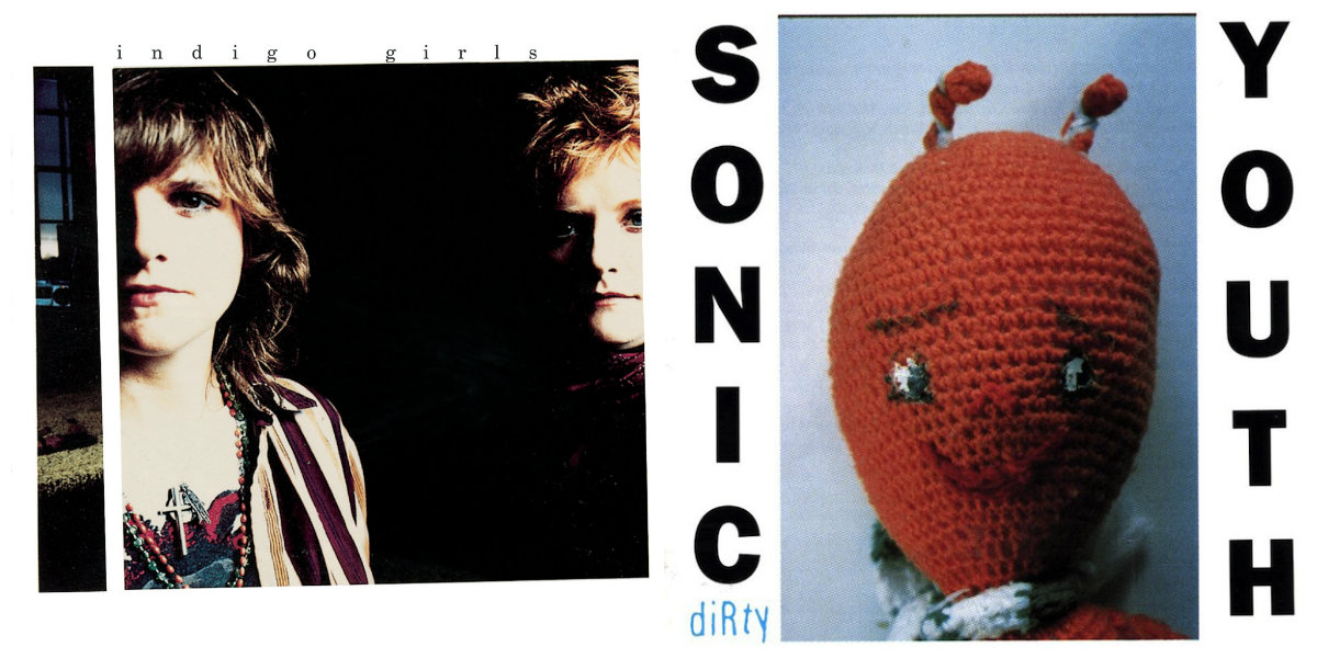 Strangest Bedfellows: Sonic Youth jam with the Indigo Girls, 1989