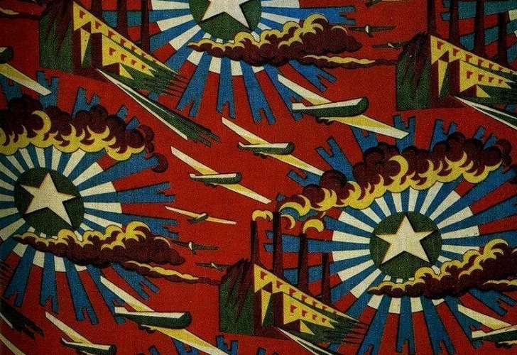 Communism in textiles: Soviet fabrics from the 20's and 30's