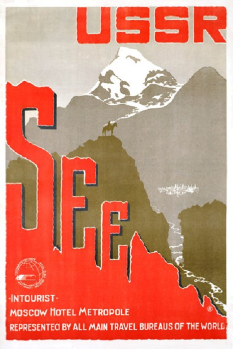 Take your next vacation in the beautiful USSR! 1930s Soviet travel brochures