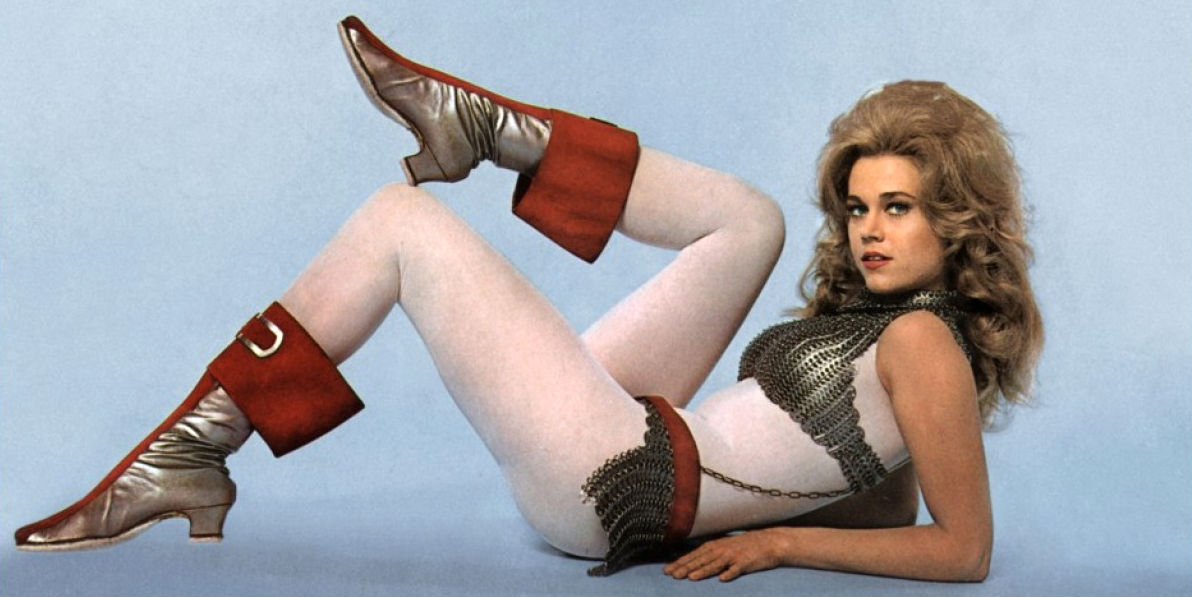 Behind-the-scenes photos of 'Barbarella,' 1968